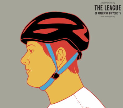 Image for course Helmet Fit: The Two V One Rule