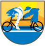 Profile bike tandem logo background2