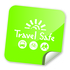 Medium travel safe logo