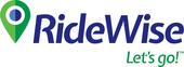 Medium ridewise bluegreen logo withtagline