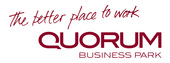 Medium quorum better place logo