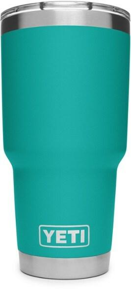 Turquoise YETI tumbler cup