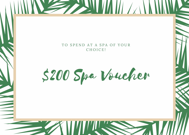 $200 Spa Voucher