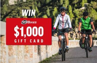 You Could Win 1000 To Spend On Anything Like In Store At 99 Bikes With Passionate Sales People Skillful Mechanics And