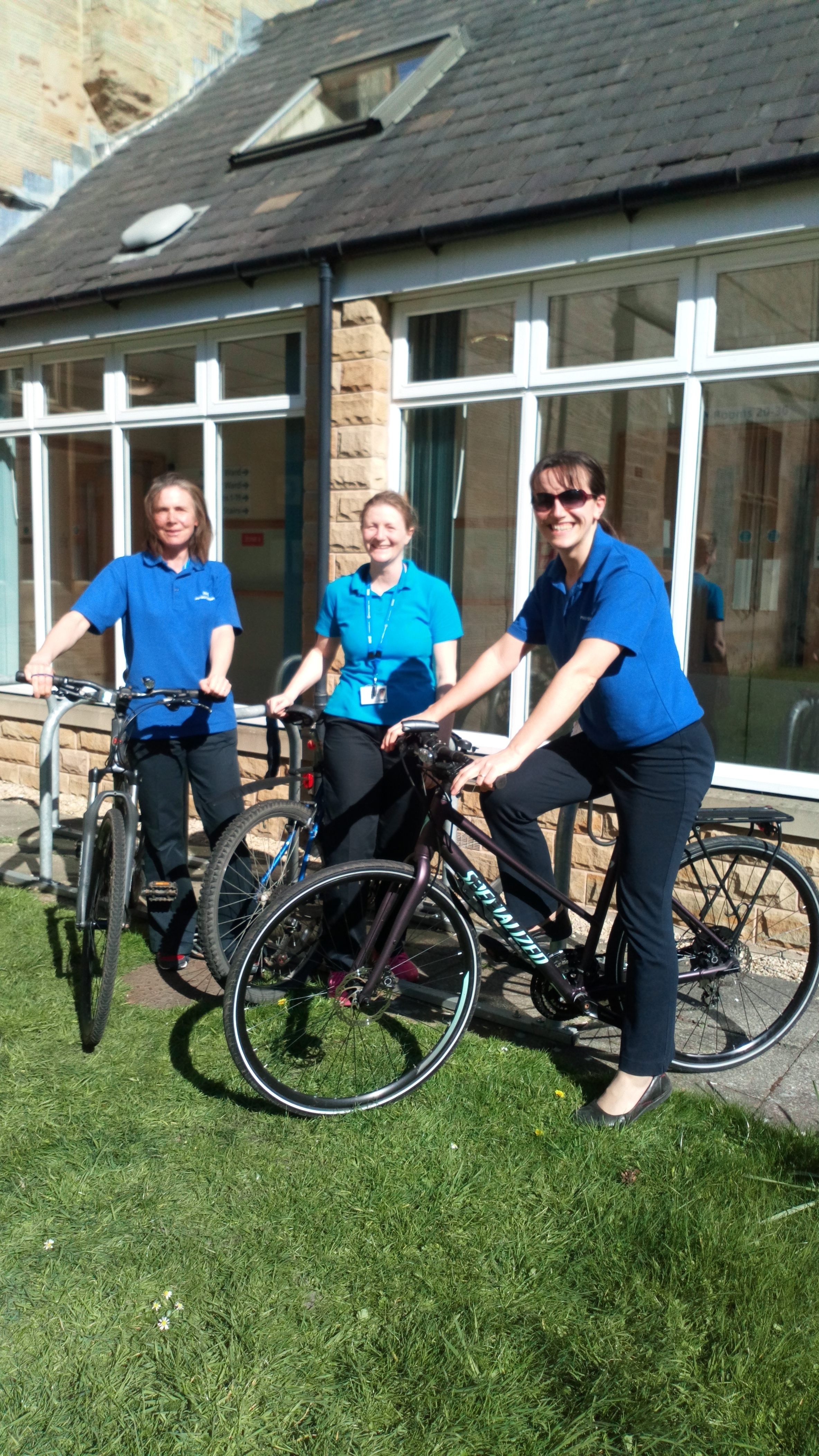 Physiotherapists on wheels