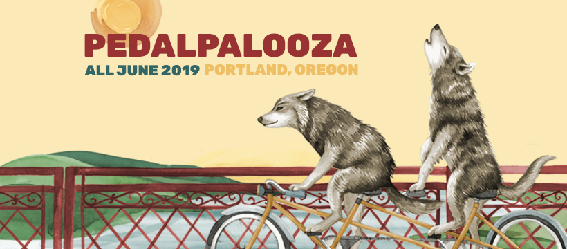 Pedalpalooza - a month of free bike fun in June