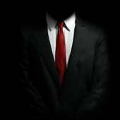Primary anonymous suit tie hitman agent simple black hd wallpaper 17590  3