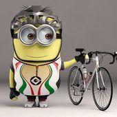 Primary minion with bike