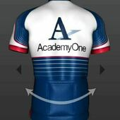 Primary a1 jersey back